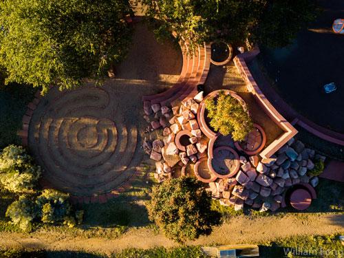 Railyard Park Labyrinth